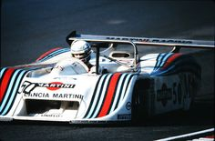 The short lived Martini Racing Lancia LC1 Group 6 Car. A turbo charged straight 4 with a Dallara built chassis.