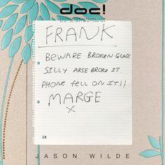 doc! photo magazine presents: Jason Wilde - SILLY ARSE BROKE IT @ doc! #25 (pp. 113-131)