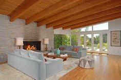 Die Holzdecke - die perfekte Deckengestaltung Kamine