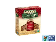 Mary's Gone Crackers http://www.prevention.com/food/healthy-eating-tips/100-cleanest-packaged-food-awards-2013-snacks-treats/slide/14