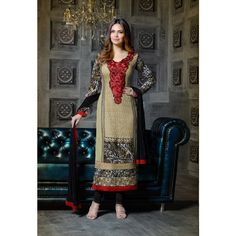 Texclusive Esha Gupta Designer Straight Fit Suit