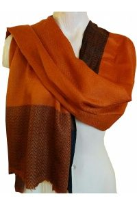 Rich Orange Scarf #orange #scarf #fashion #trends