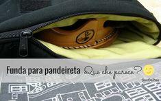 Funda para pandeireta – Que che parece…? Sons, Blog, Backpack, Pockets, Cases, My Son, Blogging, Boys, Children
