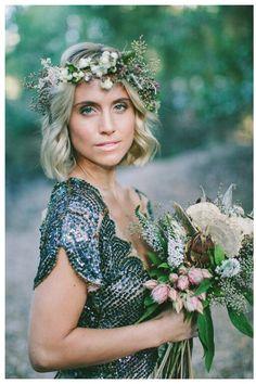 Floral Bridal Crown