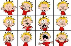 Facial Expressions Chart