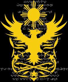 Philippine Eagle Heraldry Filipino T Shirt Filipino Tribal Tattoos, Hawaiian Tribal Tattoos, Filipino Art, Filipino Culture, Filipino Empanada, Philippines Tattoo, Philippine Eagle, Images Wallpaper, Baybayin