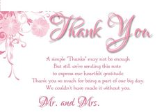 Photo Wedding Thank You Card Diy Pinterest Wedding And Weddings