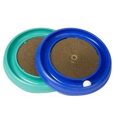 The Turbo Scratcher™ cat toy offers hours of fun and exercise for your cat while reducing potential furniture damage due to scratching.