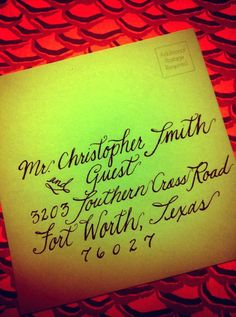 Calligrahpy - Calligraphy by Kathleen - find me on facebook!