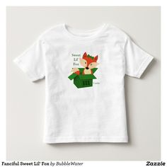 Fanciful Sweet Lil' Fox T Shirt