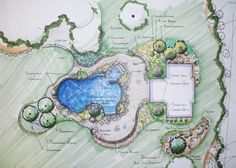 containers landscape design drawing - Google Search