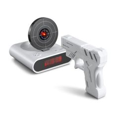 Budzik snajpera / Gun Shooting Alarm Clock.