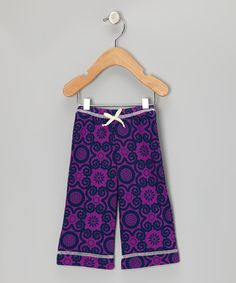 Take a look at this Violet Rose Flora Organic Pants - Infant, Toddler & Kids by Kiwi Industries on #zulily today!