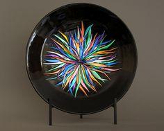 Декоративные фьюзинг тарелки Kenzart Work