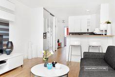 Дизайн квартиры-студии. Отличный вариант. Взять на заметку