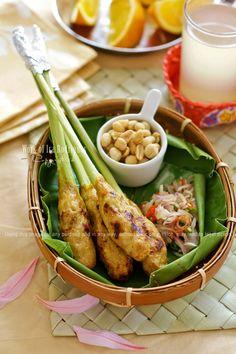 Cooking Tackle: Sate Lilit Bali / Balinese Satay Lilit