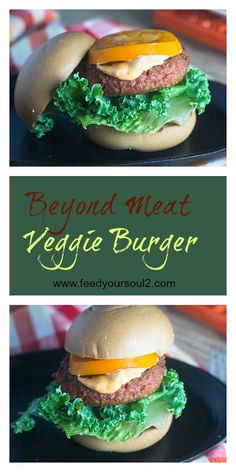 Beyond Meat Veggie Burger from Feed Your Soul Too Burger | Gluten Free | Vegetarian