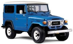 Toyota Land Cruiser Looks just like the one I owned for a few years in the early I loved that truck. Toyota Fj Cruiser, Toyota Fj40, Toyota Trucks, Auto Toyota, Station Wagon, Carros Toyota, Triumph Speedmaster, 4x4, Best Classic Cars