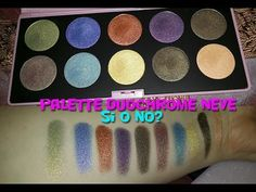Duochrome Neve Cosmetics Palette #duochrome #nevecosmetics