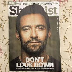 @thehughjackman @shortlistdxb Guess who's face is on this week's magazine ❤️#ILoveHughJackman #hughjackman #shortlistdxb #nofilter