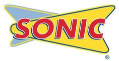 Sonic Drive-in Logo -- go ahead, you know you want it....just dont take it in the apt. If u do, the place smells like fried and ya feel like a fatty