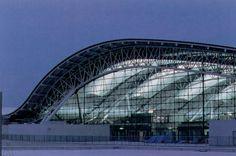 "Prize of AIJ for Design 1995 ""Kansai International Airport Passenger Terminal Building"" Renzo Piano, Renzo Viano Building Workshop. Noriaki Okabe, Noriaki Okabe Architecture Network"