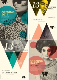 Opening party invitation. #graphic #design #diseño