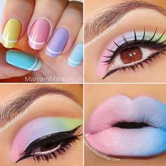 Rock the Easter Party with the best themed makeup. Check out the perfect Easter Makeup looks / ideas & pastel eye makeup ideas for spring & easter season. Makeup Inspo, Makeup Art, Makeup Inspiration, Hair Makeup, Makeup Ideas, Prom Makeup, Beauty Makeup, Witch Makeup, Zombie Makeup