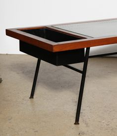 early Cal Vista California Modern Coffee Table | From a unique collection of antique and modern coffee and cocktail tables at https://www.1stdibs.com/furniture/tables/coffee-tables-cocktail-tables/
