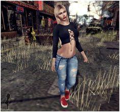 Fashion in SL by Luah Benelli: DarkFire. LIVIA e EQUAL