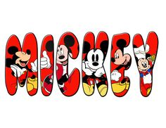 Gotta love Mickey Mouse!