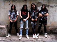 """Résultat de recherche d'images pour """"thrash metal look"""""""