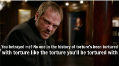 Crowley!  Best scene of the whole episode!