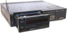 Sony SL-HF750 Super Beta Hi Fi BetaMax NTSC VCR Video Player/Recorder