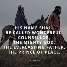 His Name Shall Be Called...