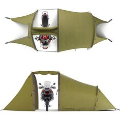 Motorcycle Tent!