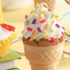 Cupcake Cones Recipe