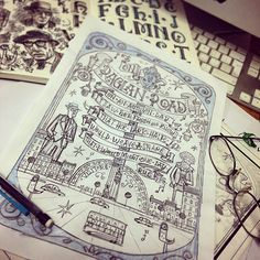 On Raglan Road by Steve Simpson Dublin, Ireland Heart Graphics, Hand Sketch, Typography Letters, Art Journals, Illustration, Screen Printing, Drawings, Dublin Ireland, Twitter