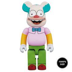 Krusty The Clown 1000% Bearbrick - Pre-order