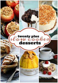 Easy Slow Cooker Dessert Recipes