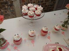 Cupcakes using real dummies.
