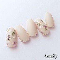 love it♡ ボゼ Pastel Nails, Pink Nails, My Nails, Acrylic Nails, Creative Nail Designs, Creative Nails, Nail Art Designs, Trendy Nails, Cute Nails
