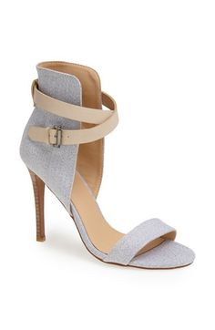 Joe's 'Macee' Sandal available at #Nordstrom - Pair these with white cropped skinny jeans and denim button up.  Done.