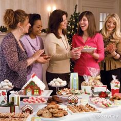 Christmas Cookie Exchange Ideas Gallery - Party City