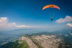 Cross Country flying au Parmelan with Fabien Blanco by Tristan Shu on 500px