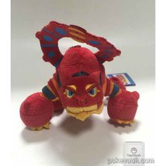 Pokemon 2016 Banpresto UFO Game Catcher Prize My Pokemon Collection Series Movie Version Volcanion Plush Keychain