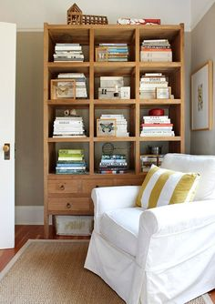 More bookcase styling