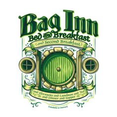 Bag inn, Lord of the Rings / Hobbit Design | TeeFury