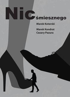 """Popatrz na mój projekt w @Behance: """"Plakat filmowy """"Nic śmiesznego"""""""" https://www.behance.net/gallery/57816095/Plakat-filmowy-Nic-smiesznego"""
