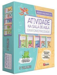 Coleção Atividade na sala de aula: Grafomotricidade - ISBN 9788533935358
